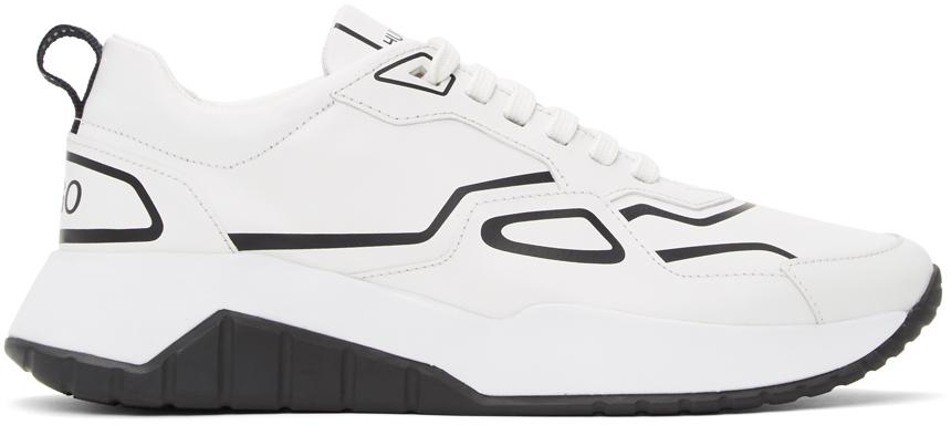 Hugo White Atom Sneakers