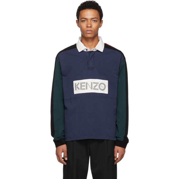 Photo: Kenzo Multicolor Rugby Polo