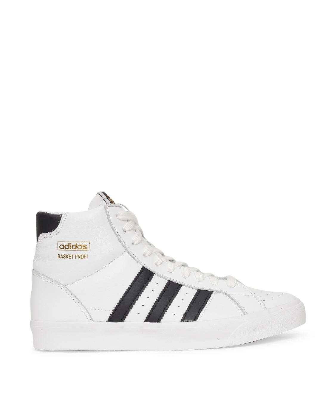 Photo: Adidas Originals Basket Profi Sneakers Ftwr White/Core Black