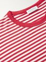 Sunspel - Striped Cotton-Jersey T-Shirt - Red