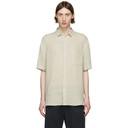 Sunspel Off-White Linen Shirt