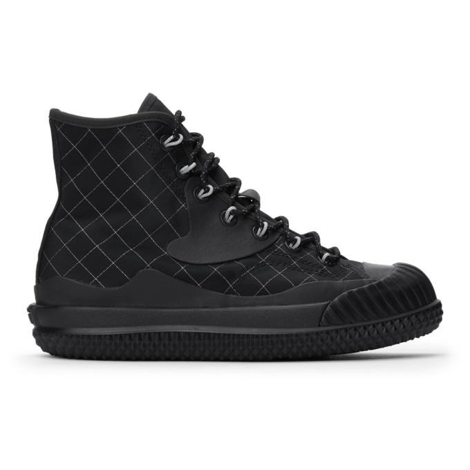 Photo: Converse Black Slam Jam Edition Bosey MC Hi Sneakers