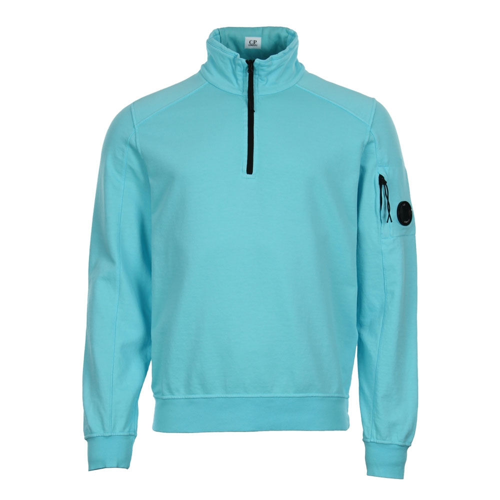 Half Zip Sweater - Blue
