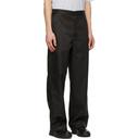 Acne Studios Black Workwear Trousers
