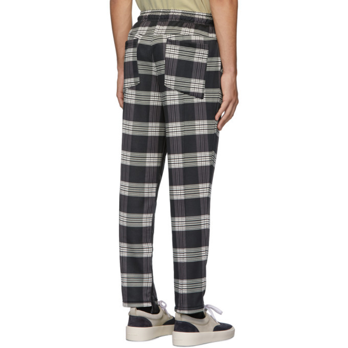 Rhude Black and White Puma Edition AOP Lounge Pants