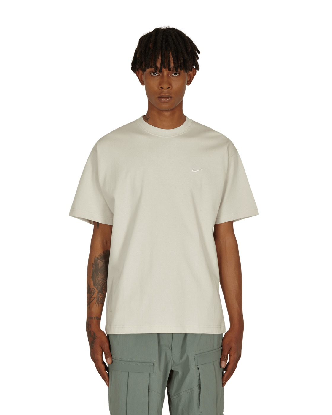 Photo: Nike Special Project Essential T Shirt Light Bone/White