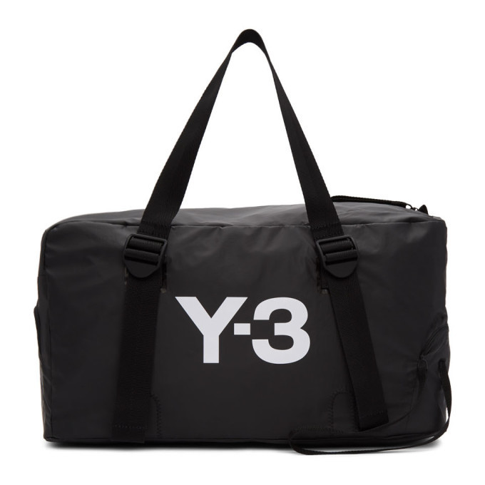 Y-3 Black Bungee Gym Bag