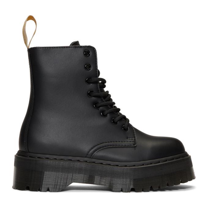 Photo: Dr. Martens Black Vegan Mono Jadon II Boots