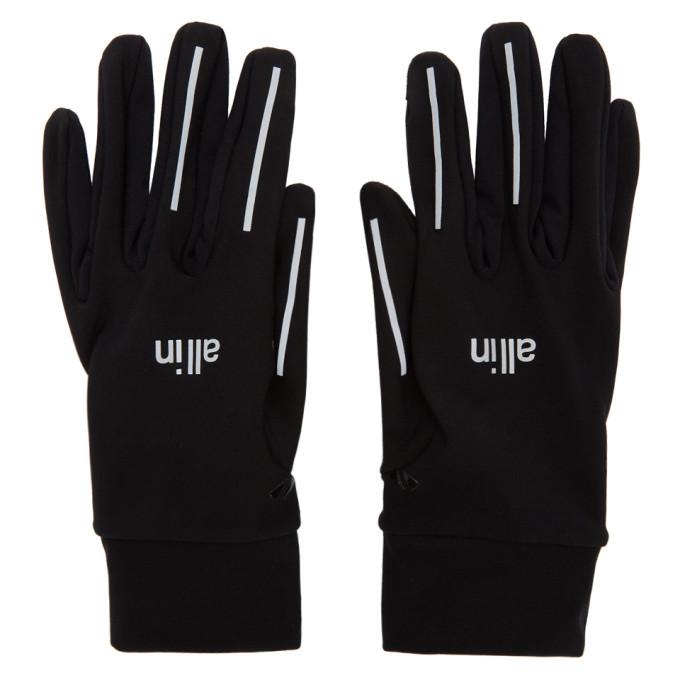 Photo: all in Black Reflective Run Gloves