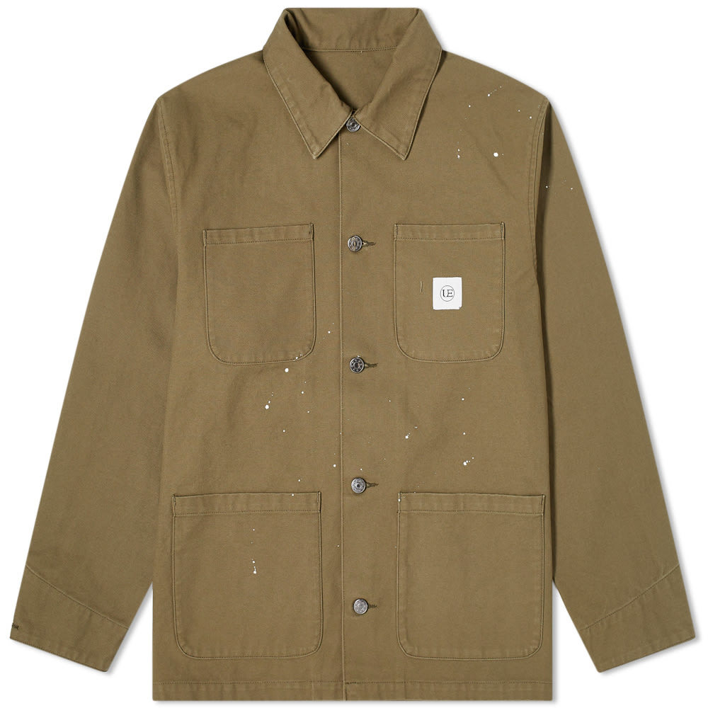 Photo: Uniform Experiment Dripping Coverall Jacket