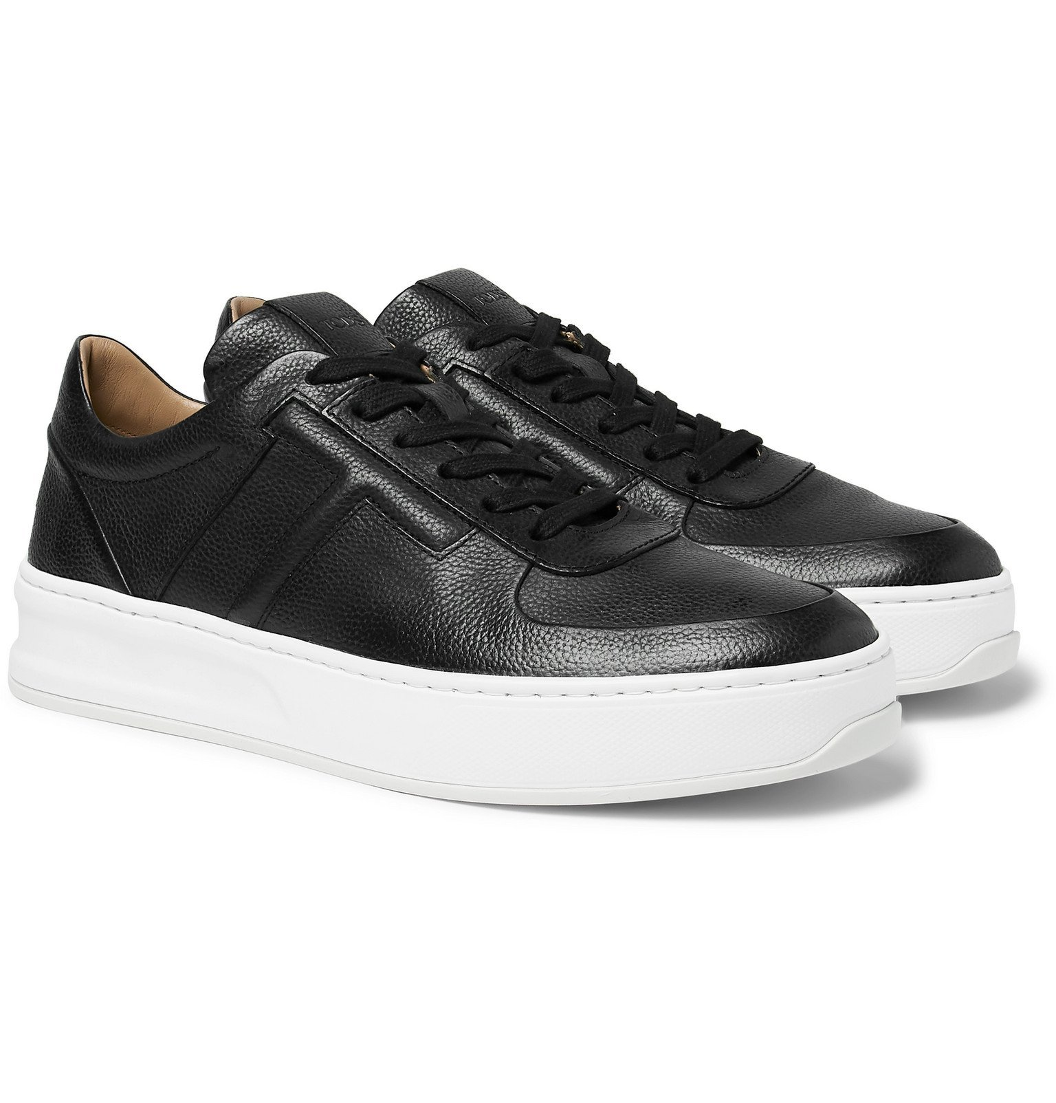Photo: Tod's - Full-Grain Leather Sneakers - Black
