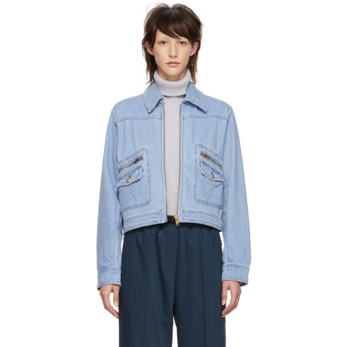 Photo: Won Hundred Blue Denim Melissa Jacket