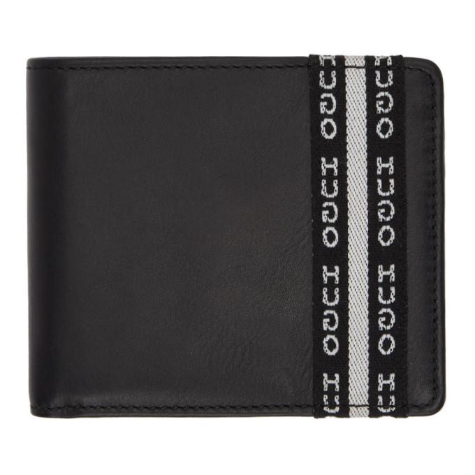 Photo: Hugo Black Wallet and Keychain Set