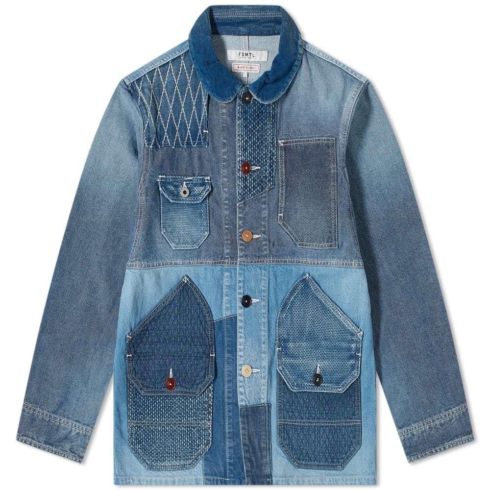 Photo: FDMTL 3yr Wash Bicolor Coverall Jacket