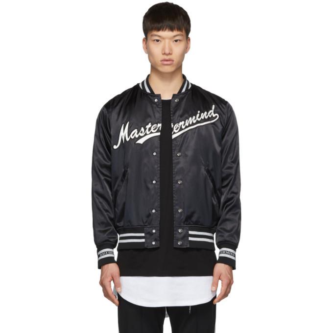Photo: mastermind WORLD Black Logo Bomber Jacket