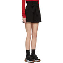 3.1 Phillip Lim Black Paper Bag Shorts