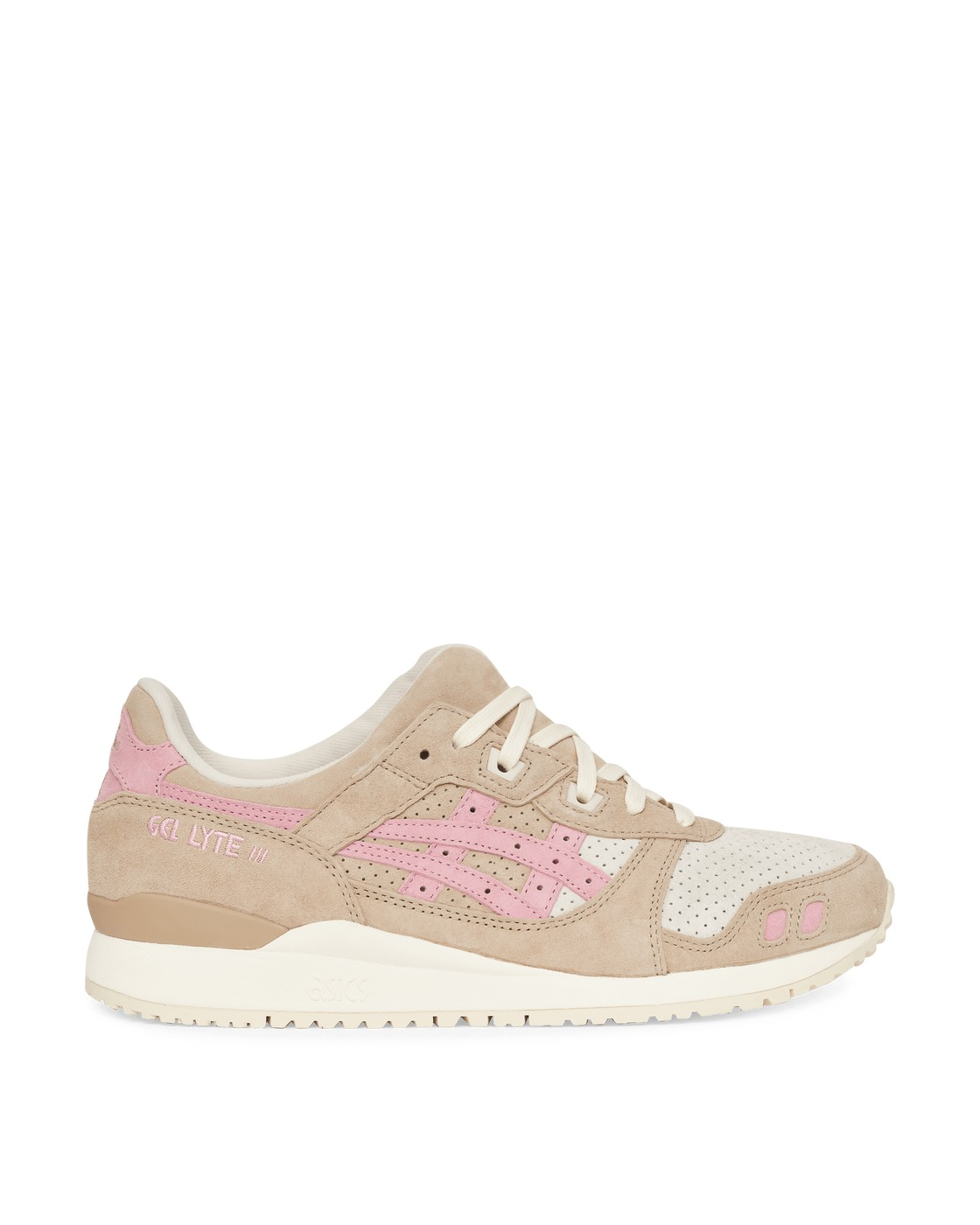Photo: Asics Gel Lyte Iii Og Sneakers Wood Crepe/Plum Blossom