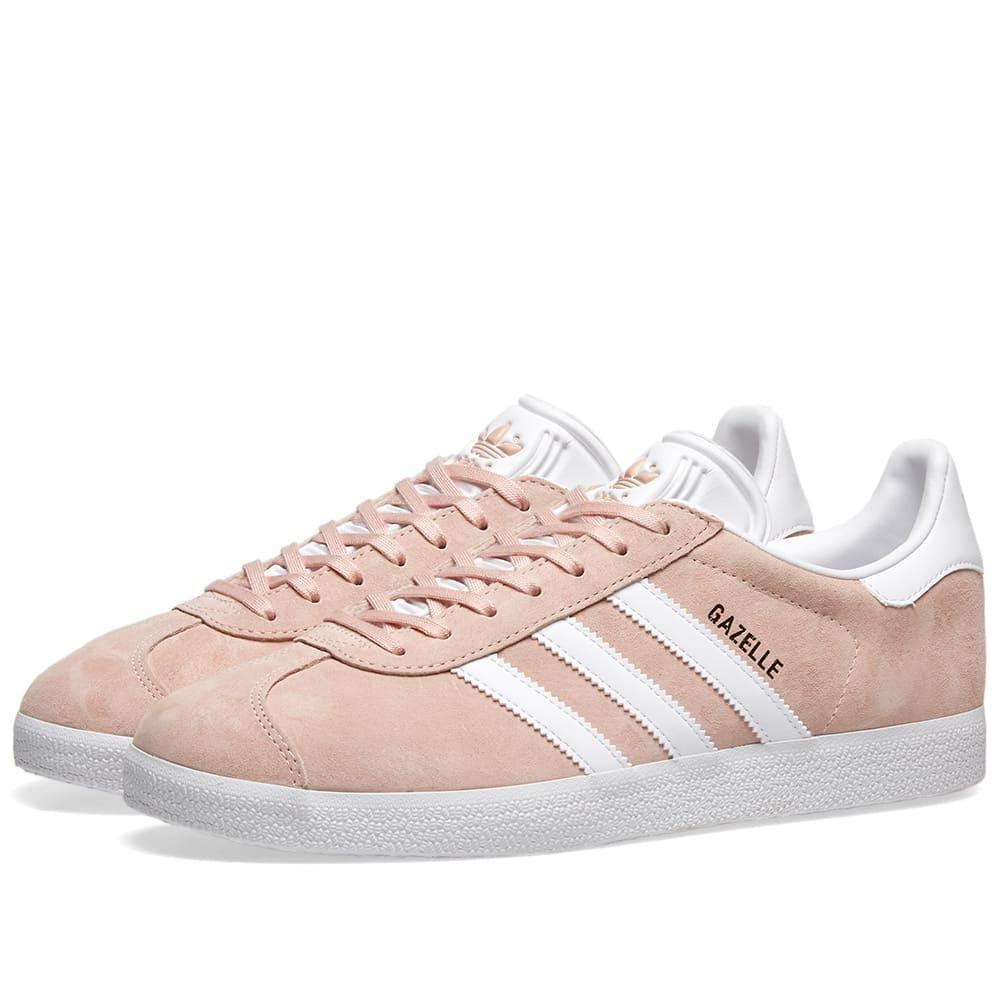 Adidas Gazelle Vapour Pink \u0026 White adidas