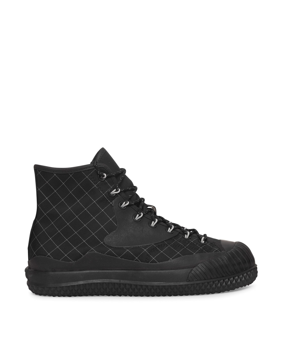 Photo: Converse Collab Slam Jam Bosey Mc Hi Sneakers Black