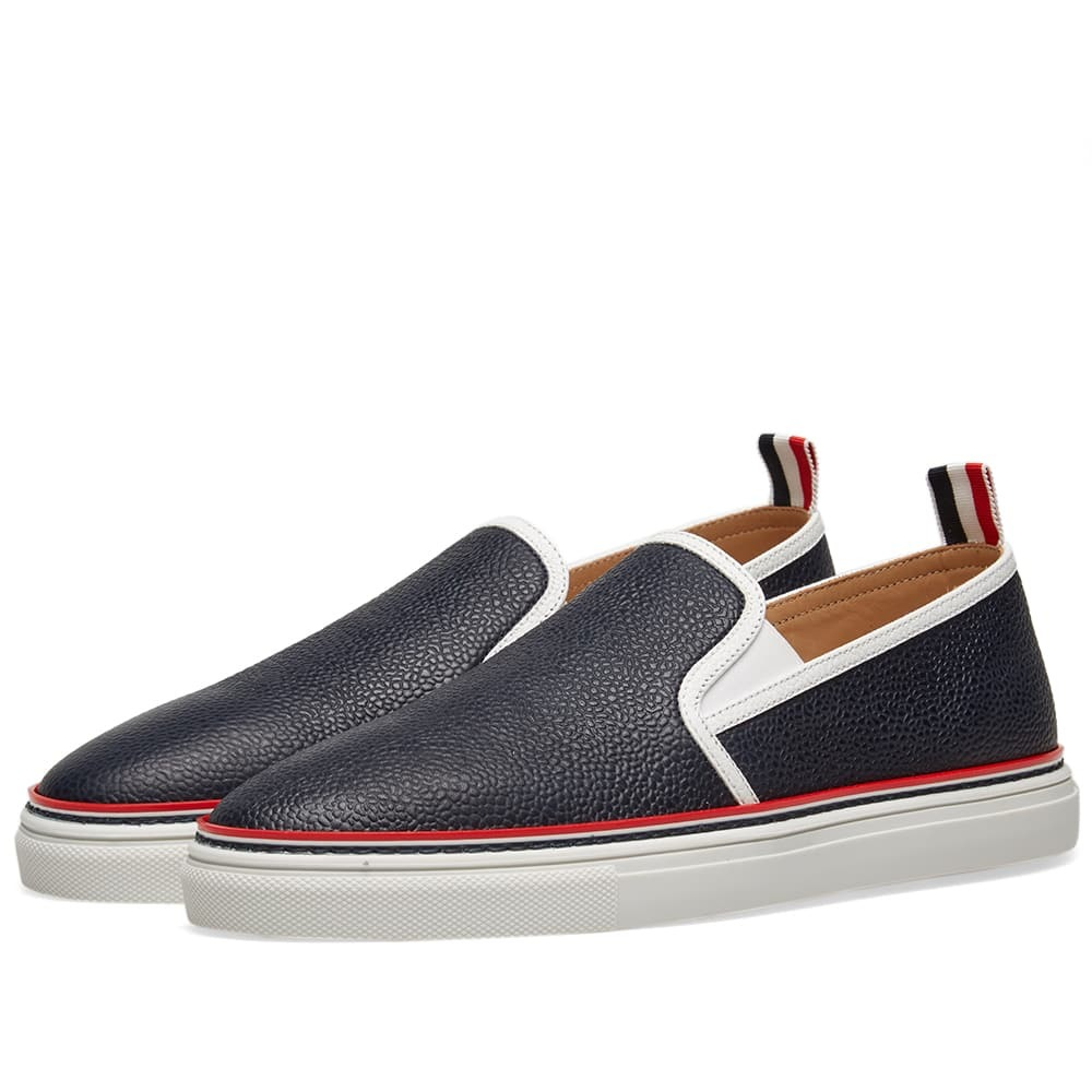 Photo: Thom Browne Slip On Trainer