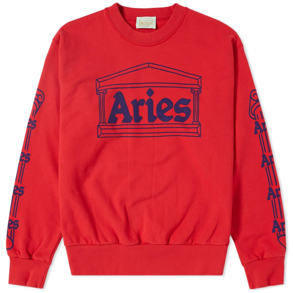 Aries Temple Crew Sweat