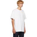 Acne Studios White Distressed Logo T-Shirt