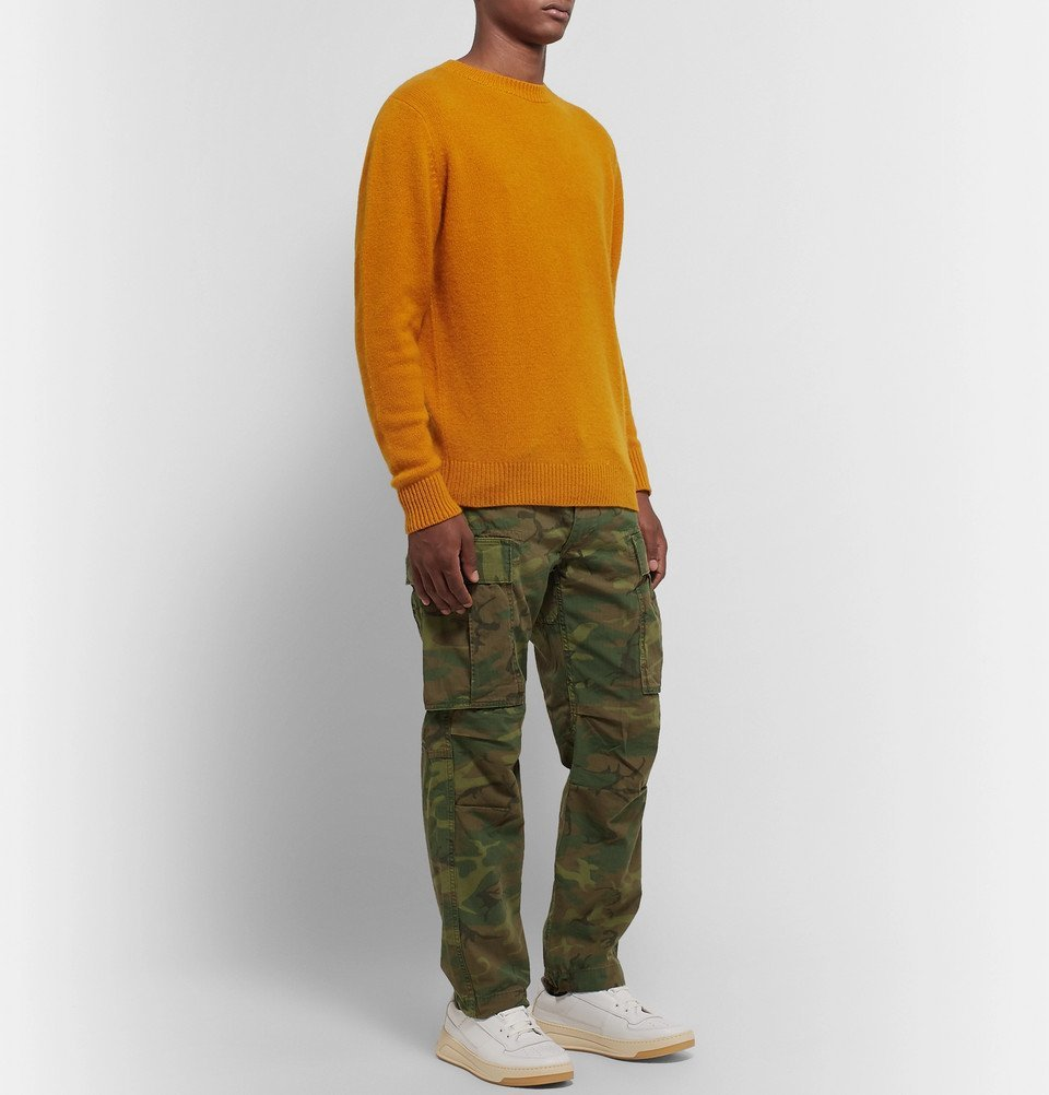 The Elder Statesman - Cashmere Sweater - Orange
