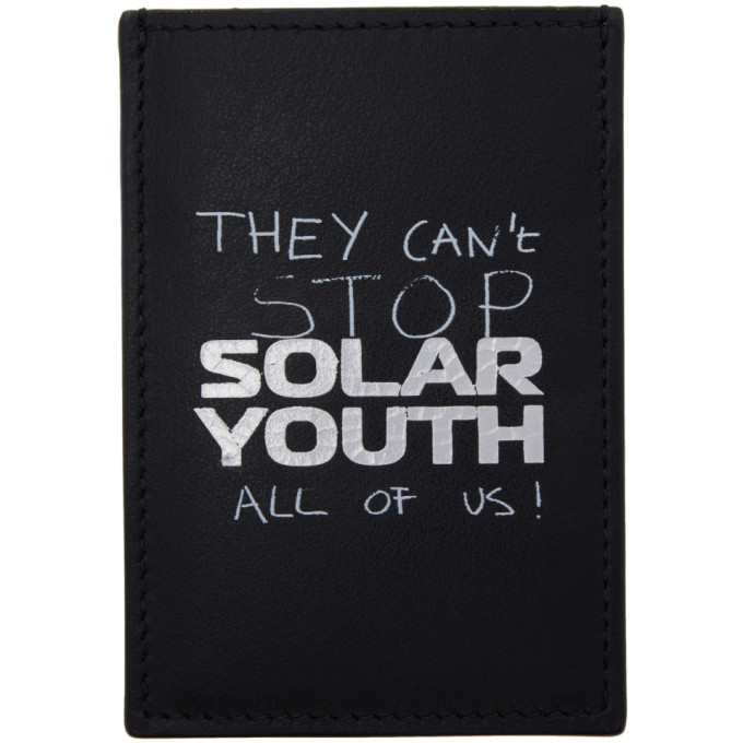 Photo: Raf Simons Black Solar Youth Card Holder