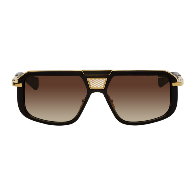 Photo: Dita Black and Gold Mach-Eight Sunglasses