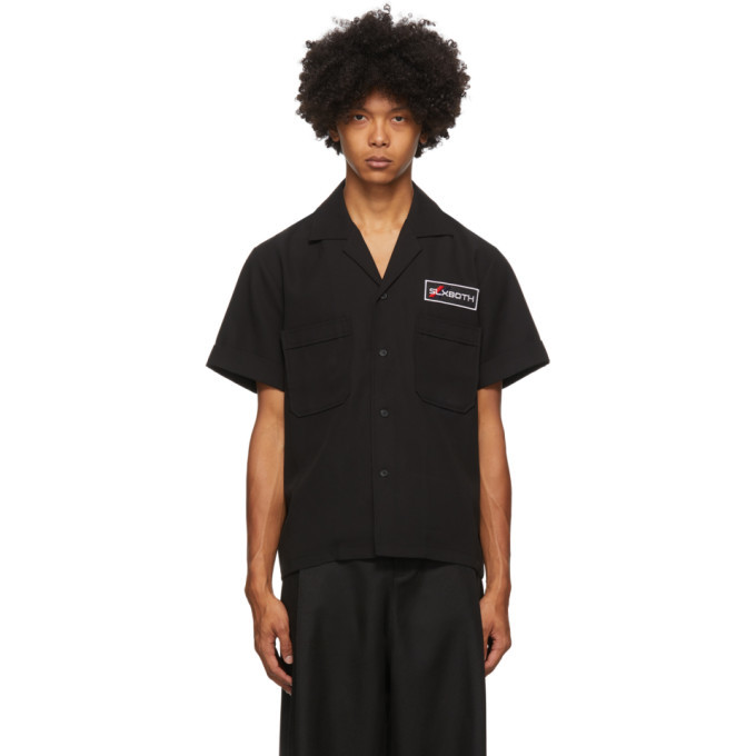 Photo: both Black Second Layer Edition Pocket Button Down Shirt