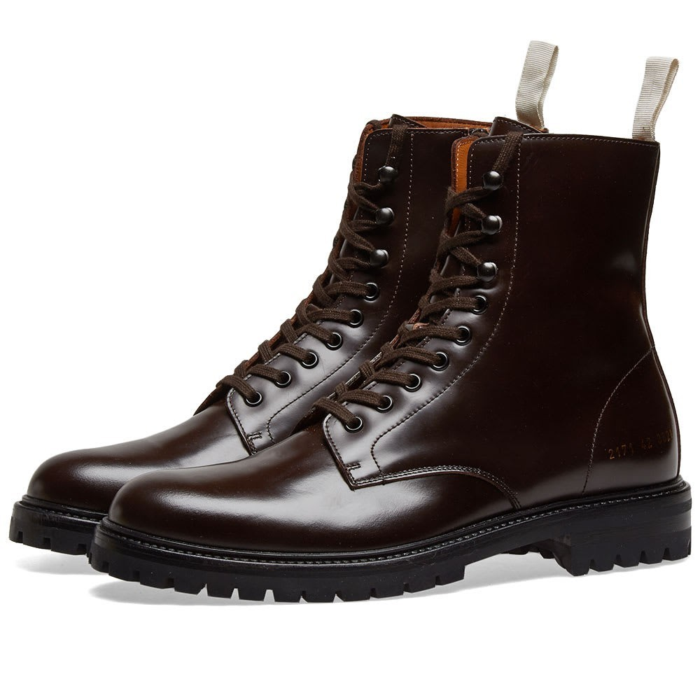 Common Projects Combat Boot Lug Sole