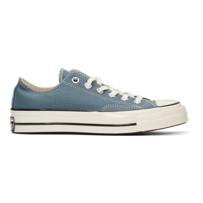 Photo: Converse Blue Chuck 70 Low Sneakers