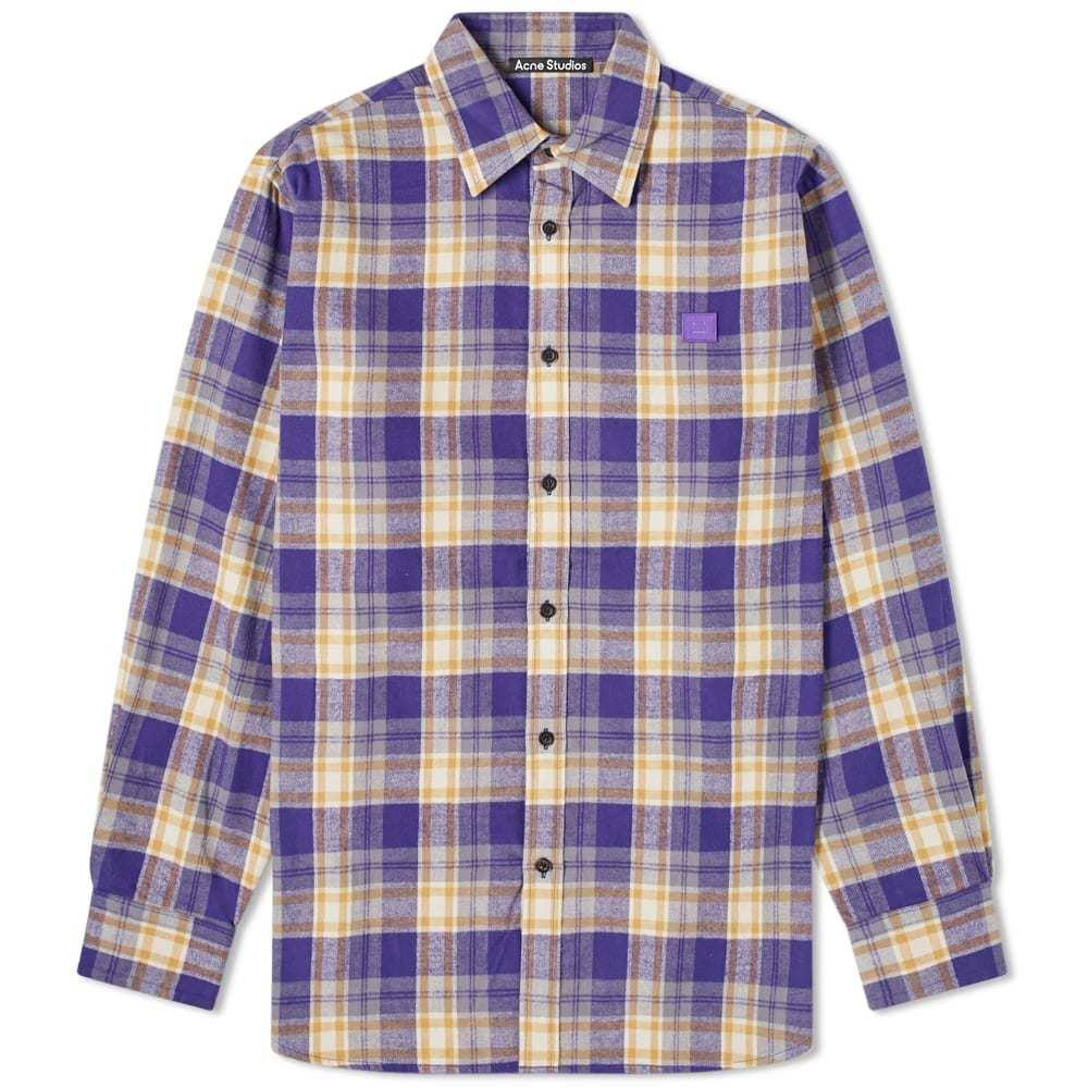 Photo: Acne Studios Saco Flannel Face Shirt