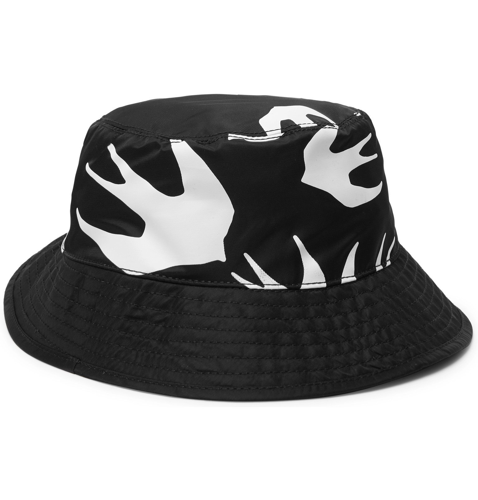 Photo: McQ Alexander McQueen - Printed Shell Bucket Hat - Black