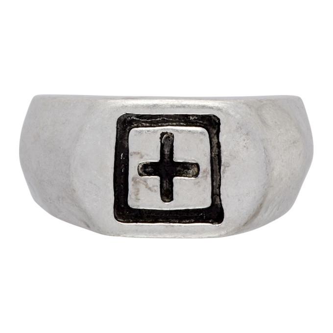 Photo: Ksubi Silver Dripps 1999 Signet Ring
