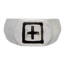Ksubi Silver Dripps 1999 Signet Ring