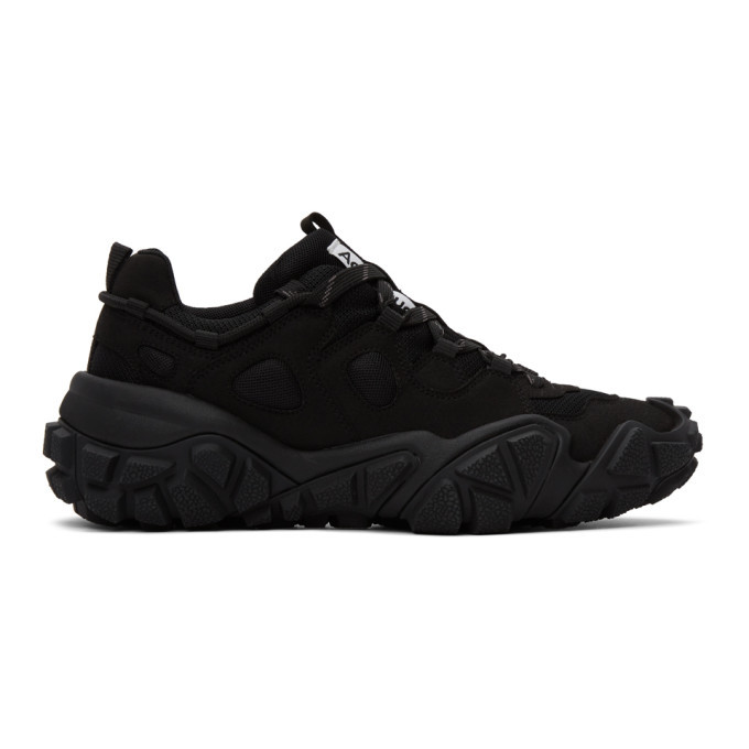 Photo: Acne Studios Black Lace-Up Sneakers