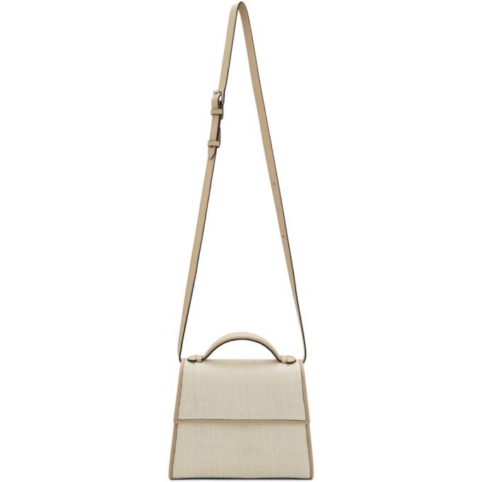 Photo: Hunting Season Off-White Platano Small Top Handle Bag