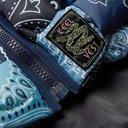 KAPITAL - Bandana-Print Woven Padded Shell Gilet - Blue
