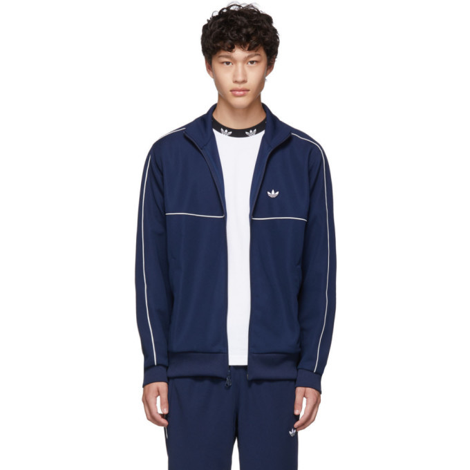 Photo: adidas Originals Navy Samstag Track Jacket
