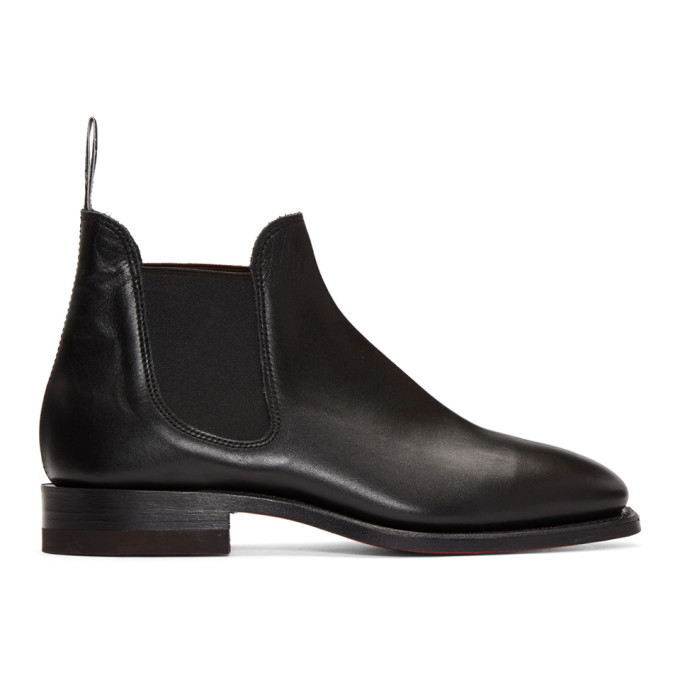 Photo: R.M. Williams Black Sydney Boots