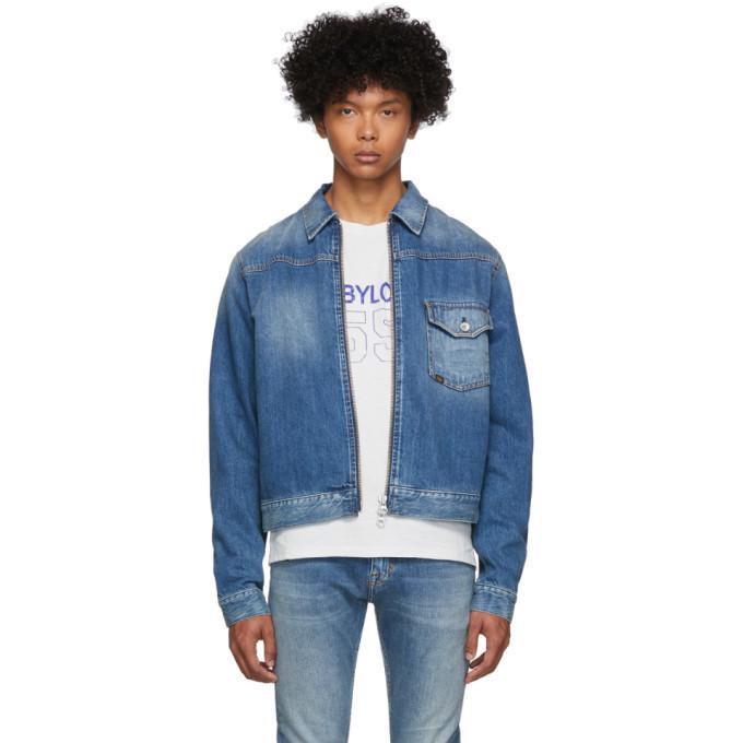 Photo: Tiger of Sweden Jeans Blue Denim Ry Zip Jacket