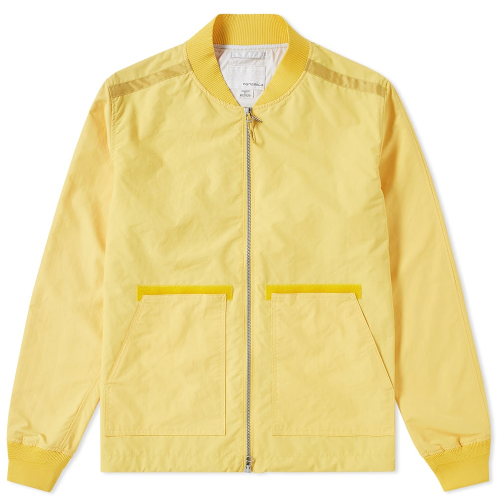 Photo: Nanamica Dock Jacket Yellow