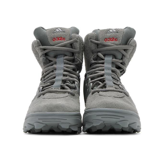 032c Grey adidas Edition GSG-9High Top Sneaker