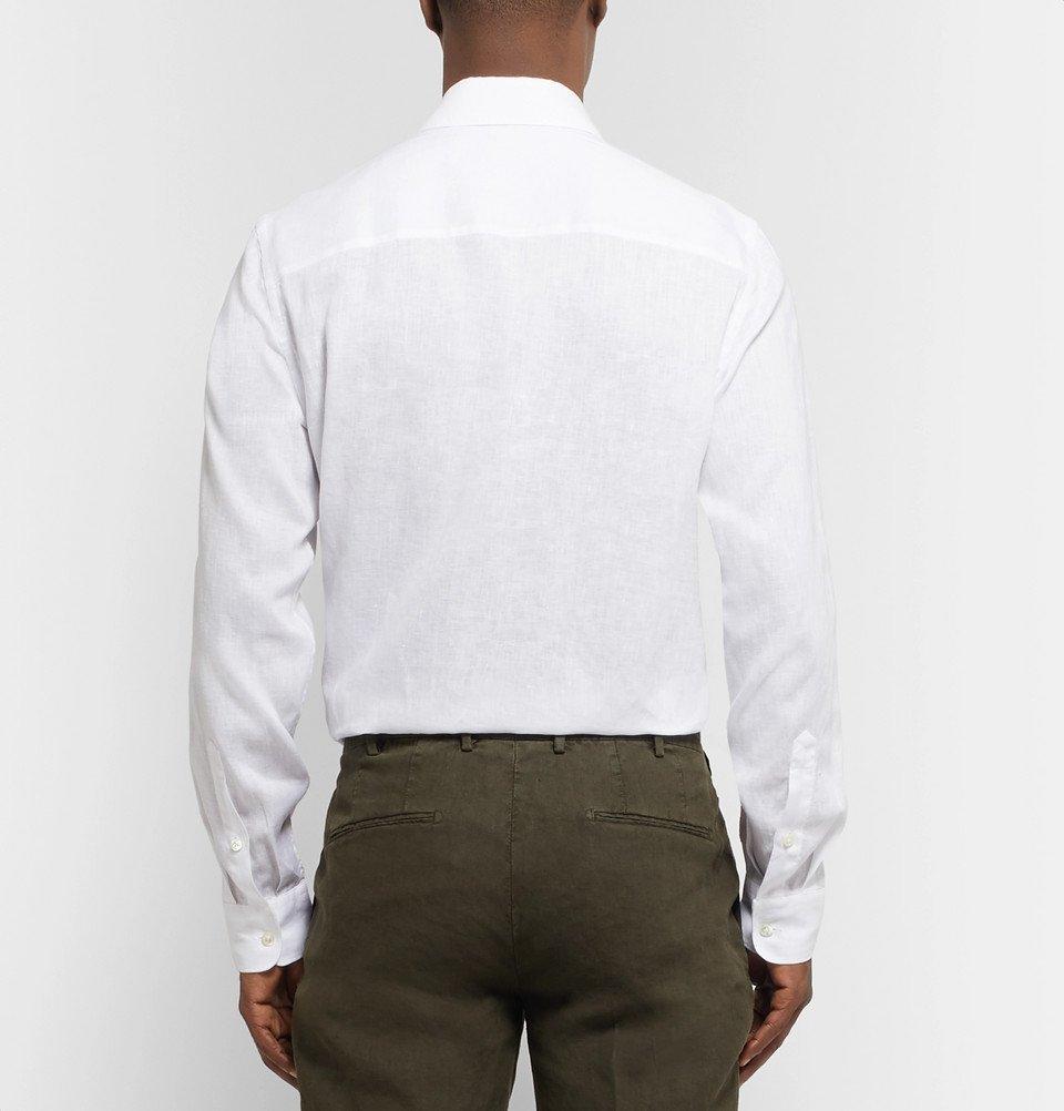 Tod's - White Linen Shirt - White