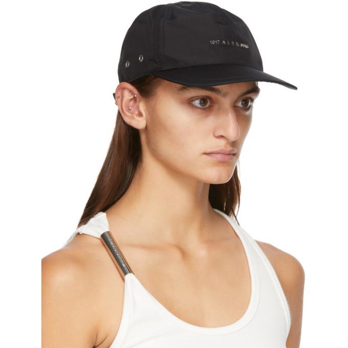 1017 ALYX 9SM Black Logo Buckle Cap