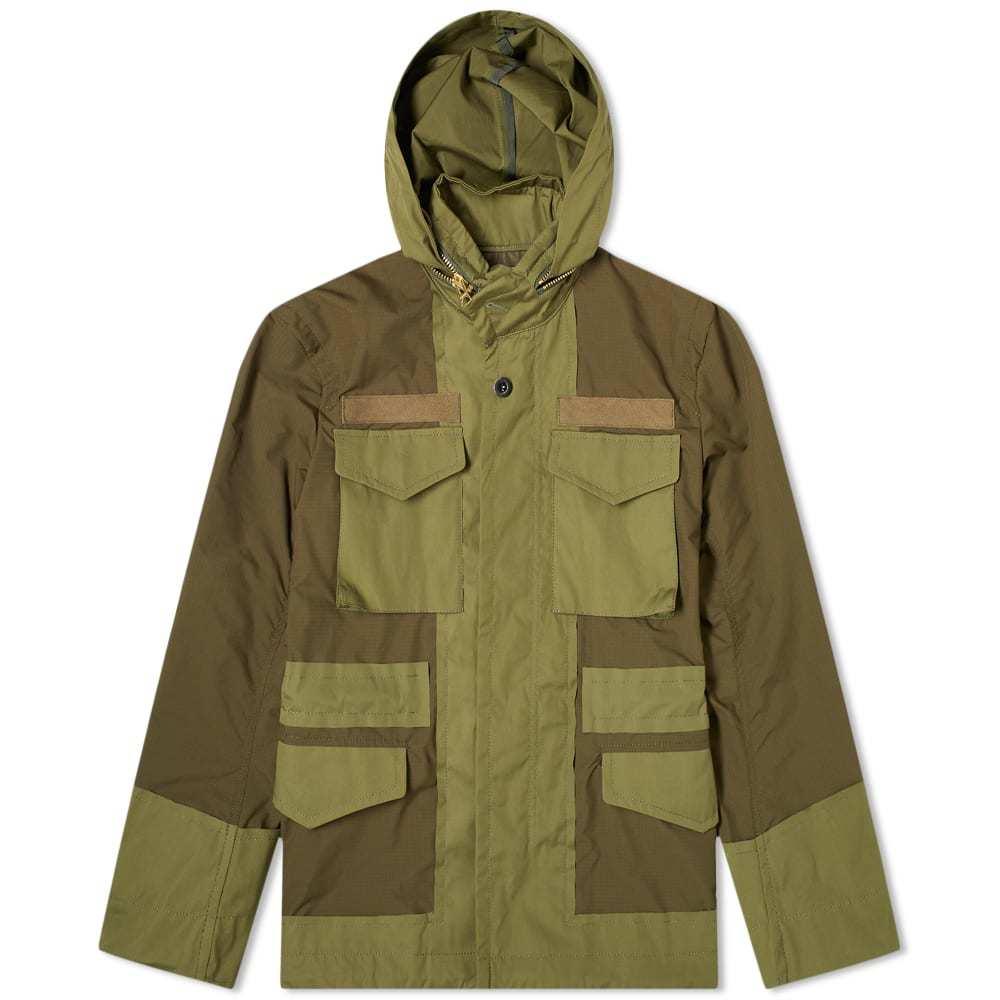 Photo: Sacai Fabric Combo M-65 Jacket