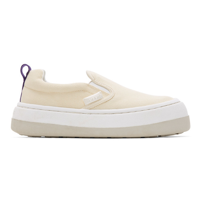 Photo: Eytys Off-White Canvas Venice Sneakers
