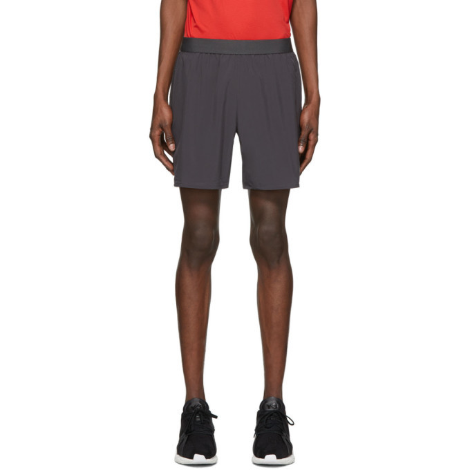 Photo: Asics Grey Road 7 Shorts