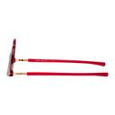 Martine Rose Red and Black Mykita Edition Giraffe SOS Sunglasses